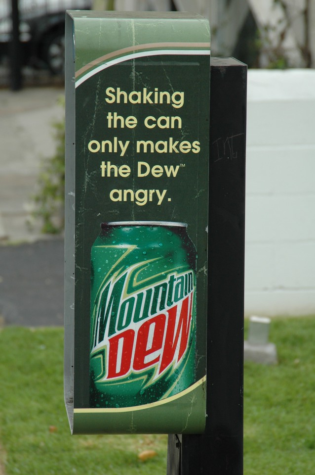 Dew is angry