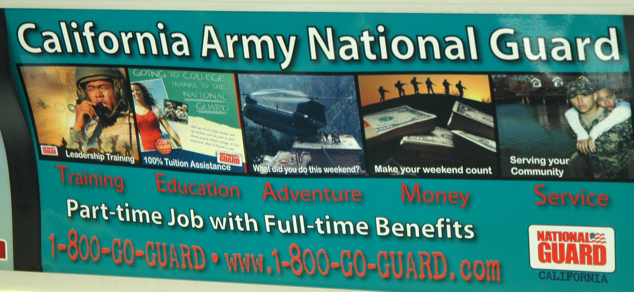 California Army National Guard Advertisement