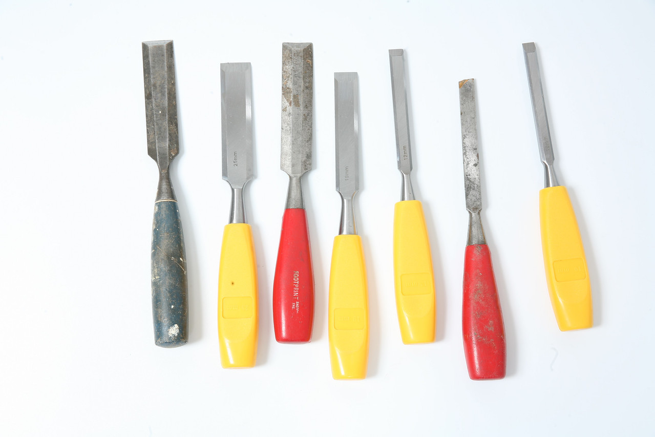 Chisels, used for woodwork