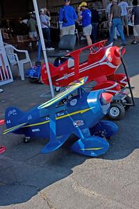 Toy biplanes