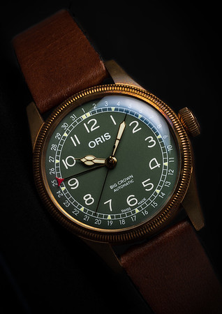 Oris 80th Anniversary Bronze Pointer Date