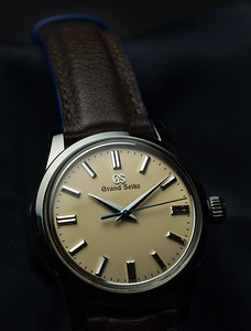 Grand Seiko SBGW235 (on Camille Fournet strap)