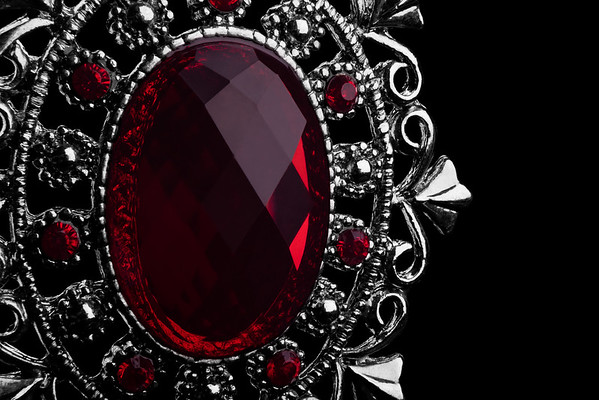 red jewelry