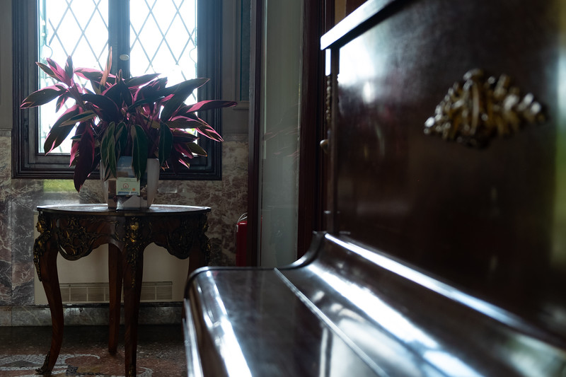 Piano & Window