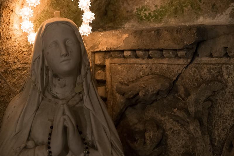 Carved Saint
