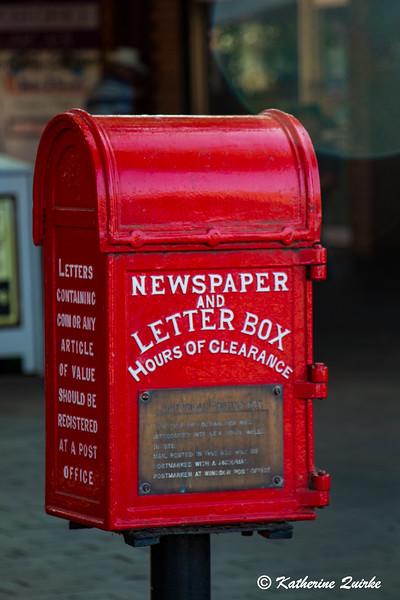 Ye Olde Post Box