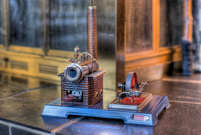 """Steam Engine - Private Collection Visit our blog """"A Private Collection"""" for the story behind the photos."""