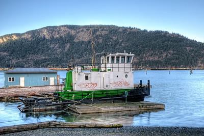 Tugboat - Cowichan Bay BC Canada