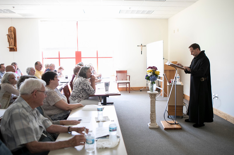 "Br. Martin Erspamer, OSB, presented the Oblate Day of Recollection on July 11, 2018. His conferences were on ""Are you sure you want Conversatio?"""