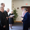 Fr. Eugene Hensell, OSB, gave the oblate March retreat from March 20-22. Two oblates made their final oblation after noon prayer on March 21.