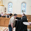 Seven people became invested as oblate novices and seven made their final oblation as Benedictine Oblates of Saint Meinrad on March 23, 2019 in the Archabbey Church.