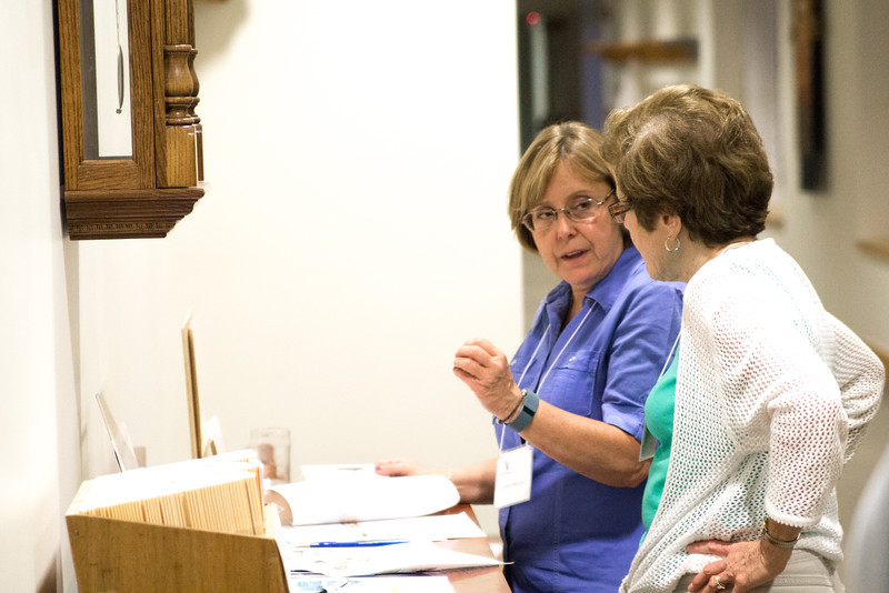 """Photos of the 2015 Oblate Study Days, with Br. John Mark Falkenhain, OSB, as the speaker. The theme of his conferences was """"Oblation as a Vocation."""""""