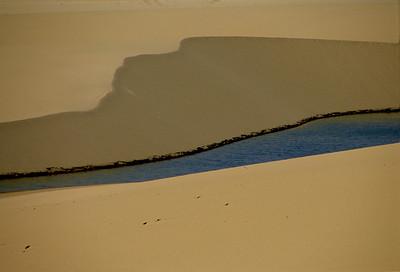 Sand, water & rocks