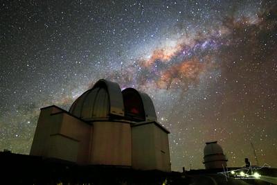 Milkyway over MPG/ESO Telescope
