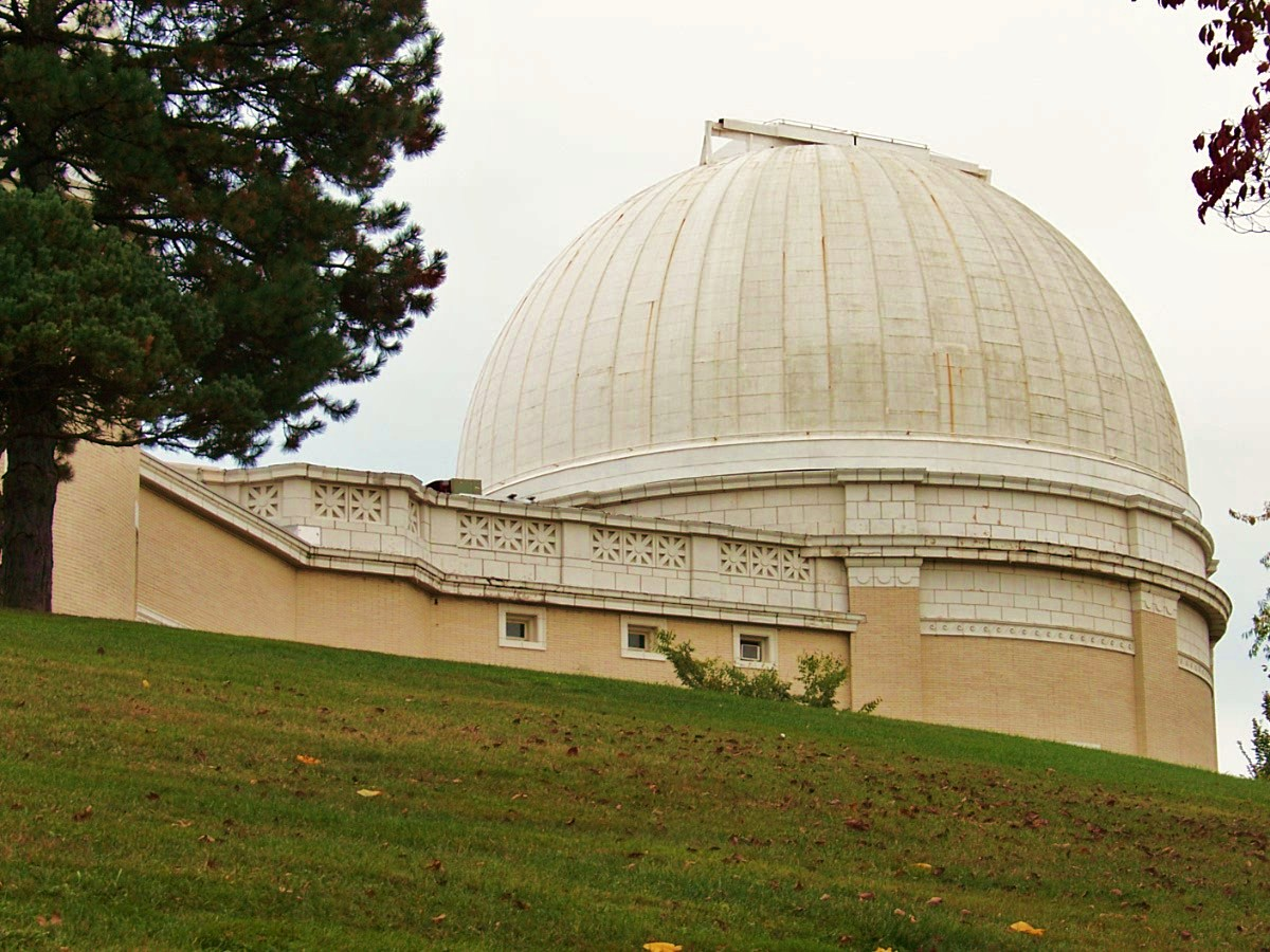 Dome to 30 inch Thaw Refractor Telescope - 5th largest refractor in the world.