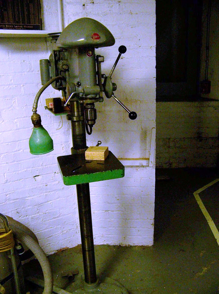 Old Delta Drill press - possibly about a 14 inch.