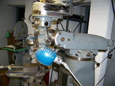 Bridgeport Milling Machine head.