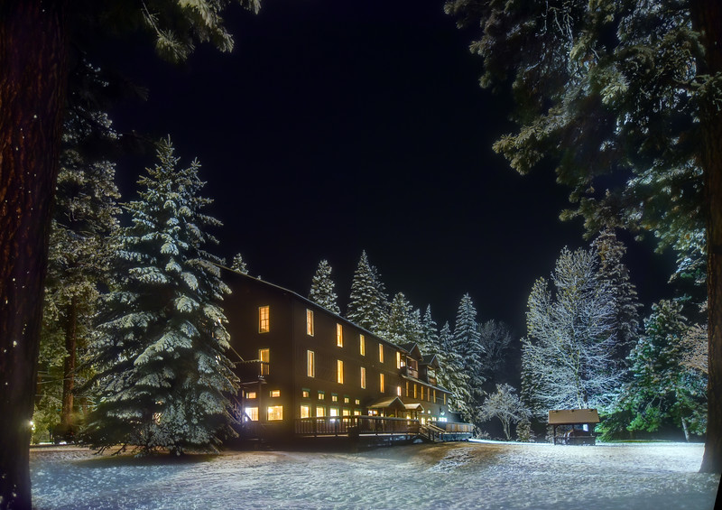 2. Wallowa Lake Lodge in January, 2016