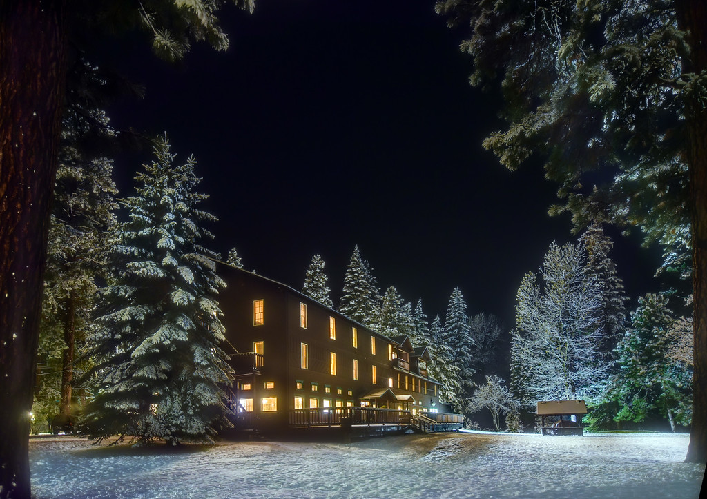 2. Wallowa Lake Lodge in January, 2016