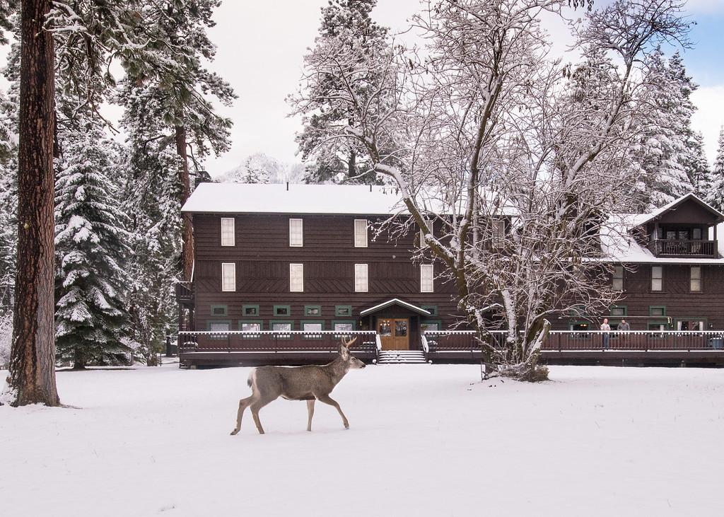 4. Wallowa Lake Lodge, December 2015.