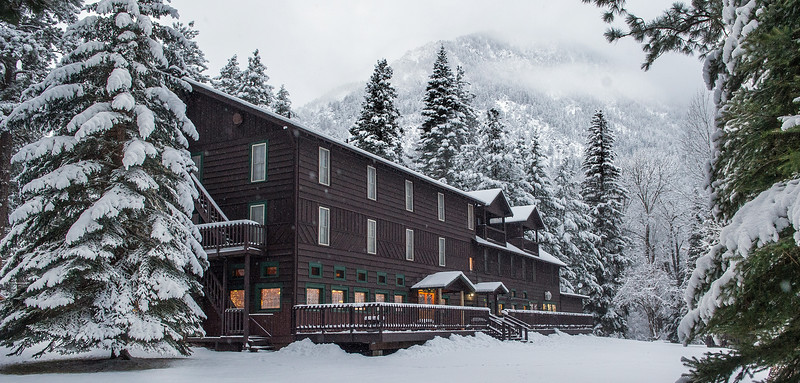 8. Wallowa Lake Lodge, December, 2015