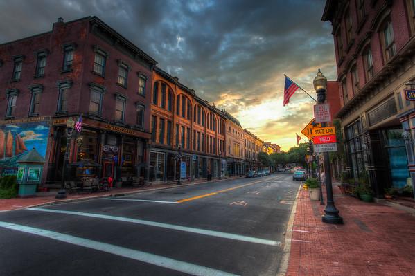 Washington Street Sunset