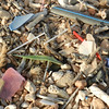 Plastic Waste on a Beach in Majorca