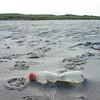 Plastic Garbage on North Sea Coastline in Germany Plastikmüll an der Nordsee