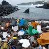 Plastic on a Beach in the Azores