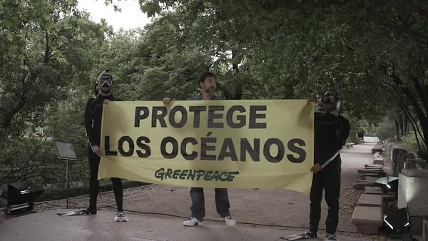 Brutos photocall evento embajadores de los océanos