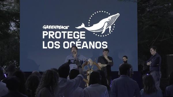 Brutos interior evento embajadores de los océanos