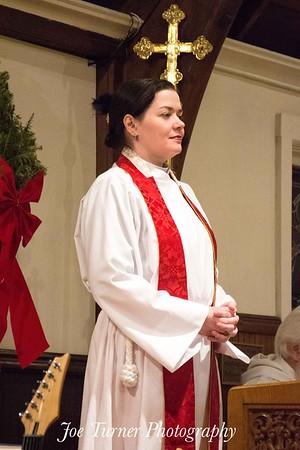 Rev Lauren McLeavey Installationat St Anne's Episcopal Church, Jan 10, 2017, Billerica, MA