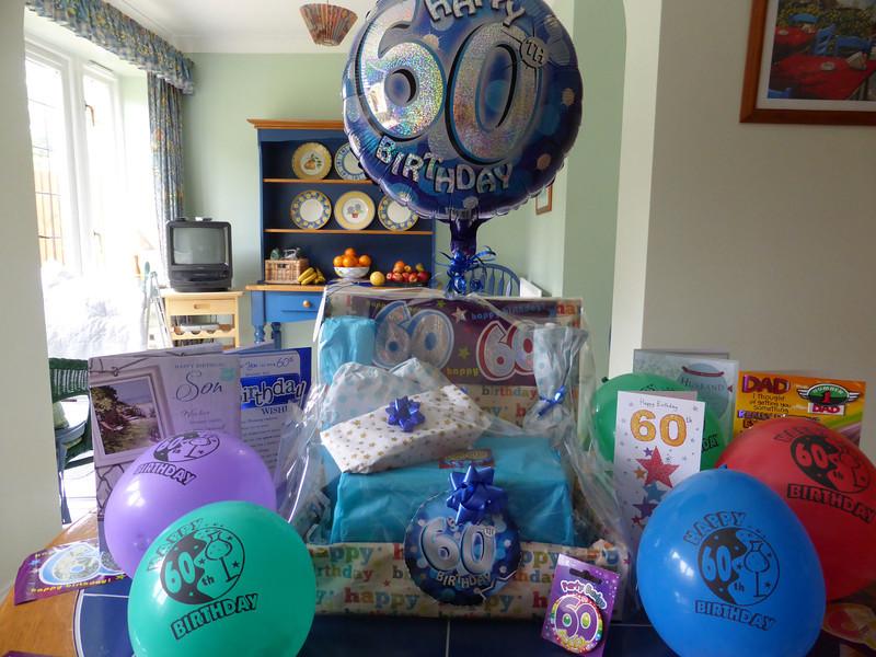 Wonderful Birthday Box made by Pauline