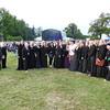 The Salisbury Plain Military Wives Choir + fans!