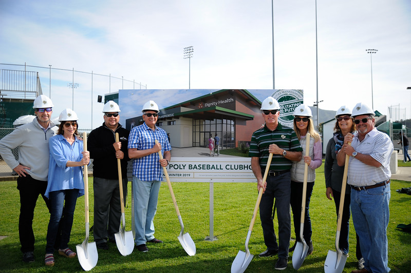 DIGNITY HEALTH BASEBALL CLUBHOUSE GROUNDBREAKING, Cal Poly Athletics