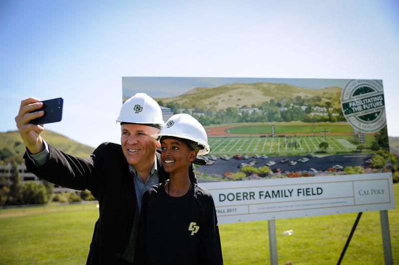 DOERR FAMILY FIELD GROUNDBREAKING, Cal Poly Athletics