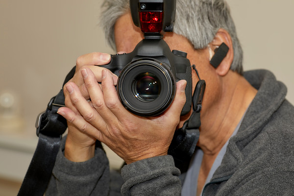Man Taking a Photograph