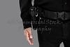 Uniformed Man with Handgun