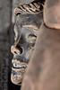 Fire Burned Head Mannequin Training EMS Dummy Vertical