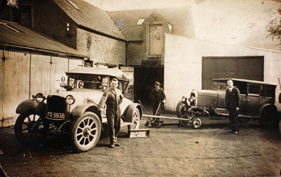 The Vehicle Garages