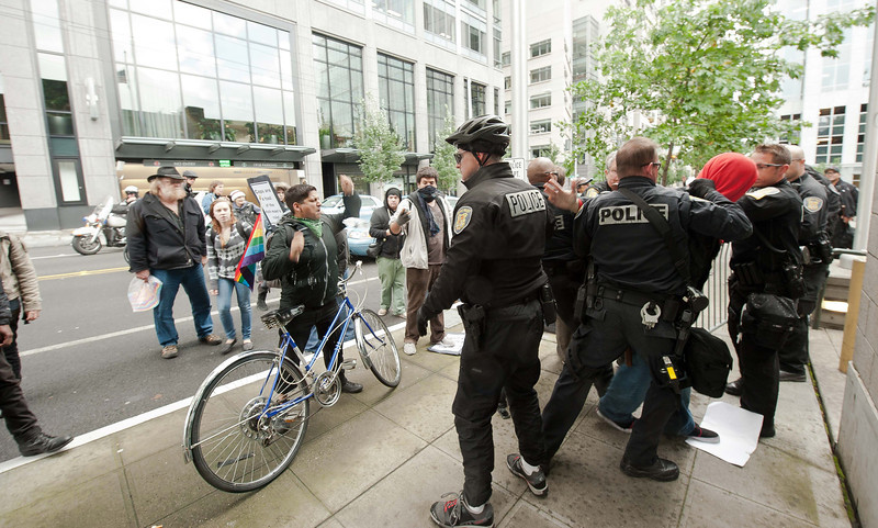 Occupy Seattle:  March Organized by Group Against Police Brutality 2011/10/22