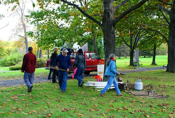 Occupy Augusta at Capitol Park in Maine
