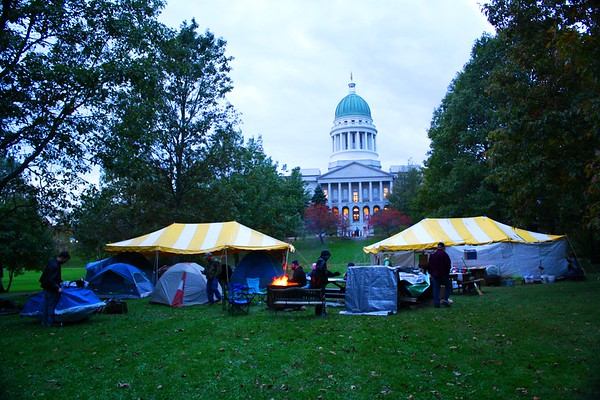11.10.17 Occupy Augusta at Capitol Park