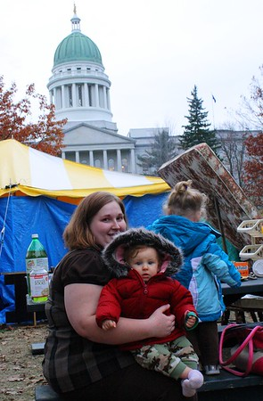 11.11.14 Occupy Augusta at Capitol Park