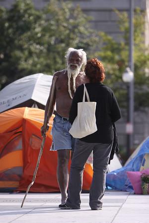 Freedom Plaza Oct. 23, 2011