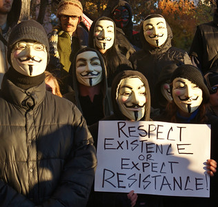 Occupy/Anonymous Movement