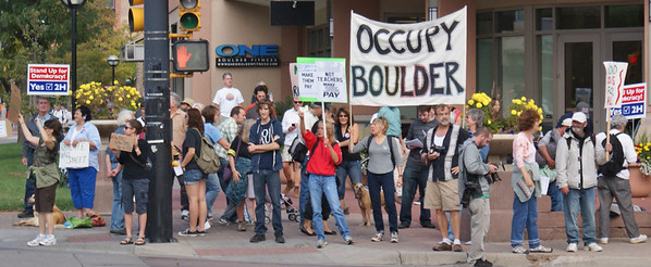 Occupy Boulder protest Oct 2011 (1)