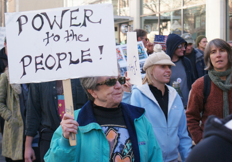 Occupy Denver demonstrations, November 2011.