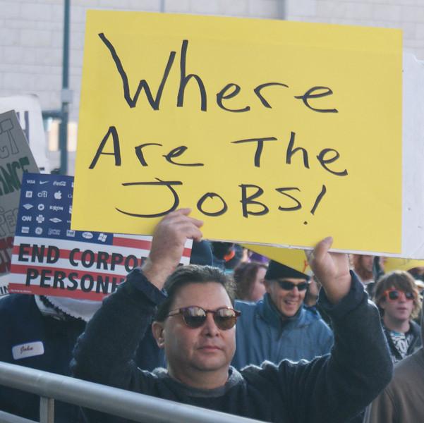 Occupy Denver demonstrations, November 2011.