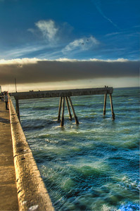 A Windy Day on the Pacifica Pier